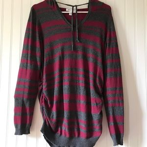 Motherhood Maternity Sweaters - Motherhood Hooded Pullover